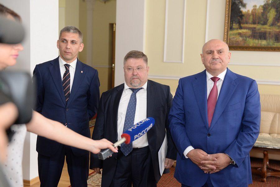1-ый замминистра сельского хозяйства прибыл наОрловщину для участия ваграрном консилиуме