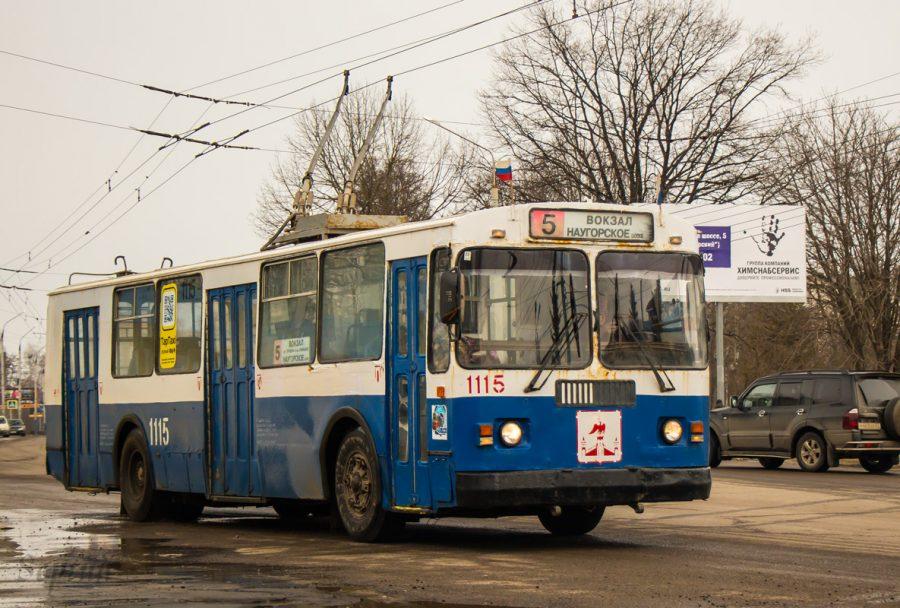 Троллейбуса №5а пока нет вгородской маршрутной сети