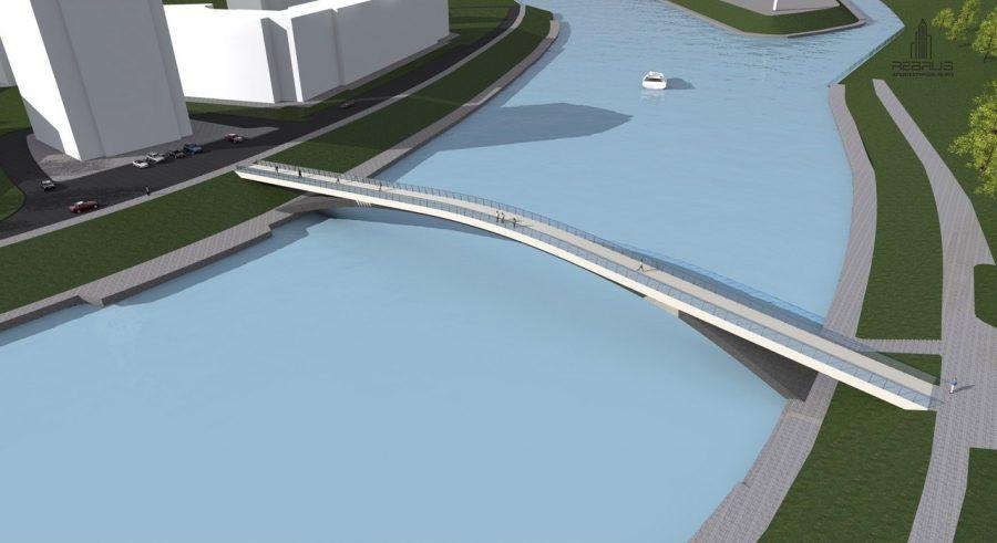 Власти повторно ищут подрядчика настроительство пешеходного моста через Оку вОрле
