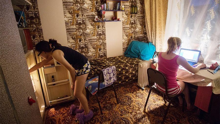 Фото из русской общаги