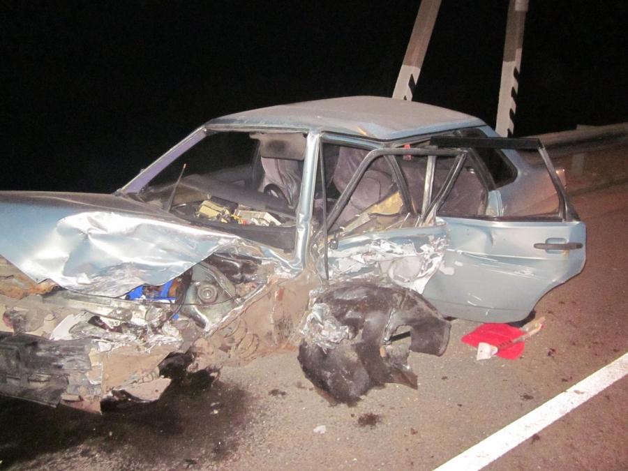 ВДТП вОрловской области насмерть разбился шофёр УАЗ «Хантер»